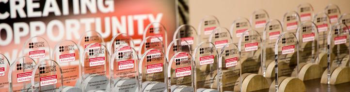 Награда за езиков център WORDS Бургас, по програма IELTS на Британски съвет